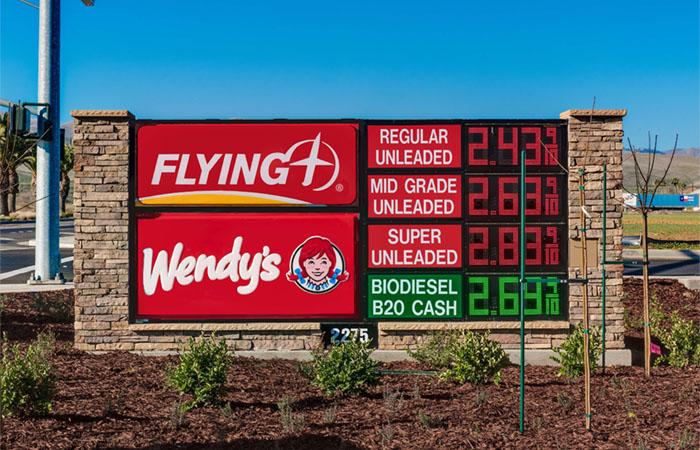 Pilot Flying J, Wendy's
